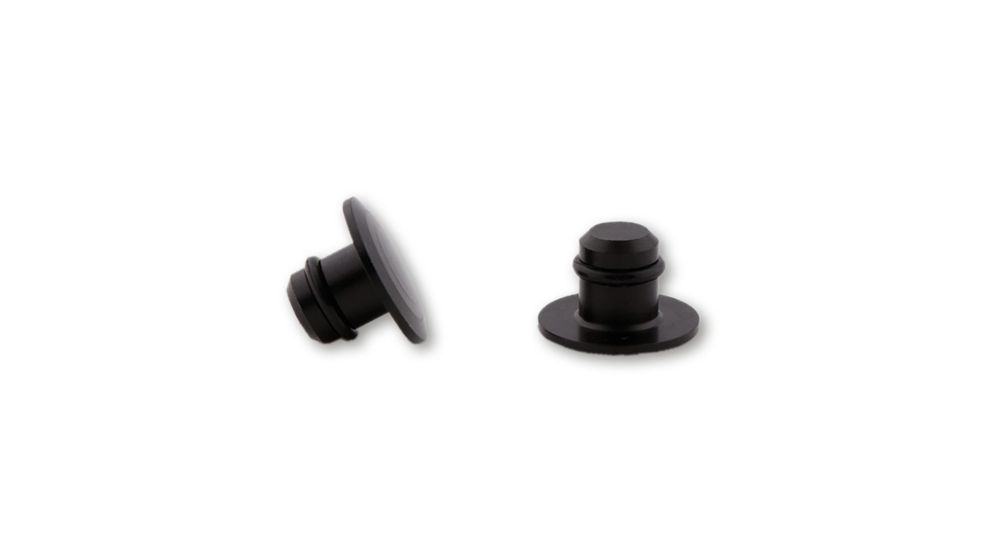 highsider Tapas de cubierta CNC M10, negro