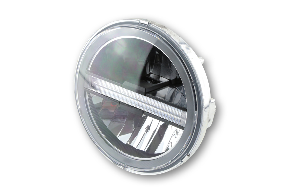 highsider Inserto de faro principal LED TIPO 6 con TFL, redondo, 5 3/4 pulgadas