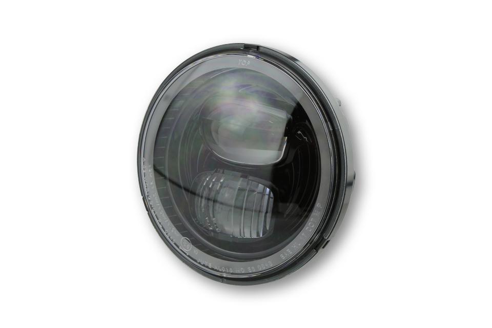 highsider Faro principal LED de inserción TIPO 7 con anillo de luz de estacionamiento, redondo, 5 3/4 pulgadas