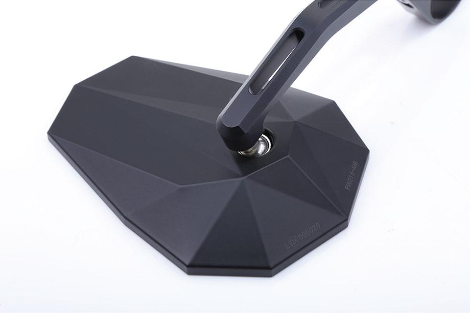 highsider STEALTH-X6 Espejo de extremo de manillar, largo