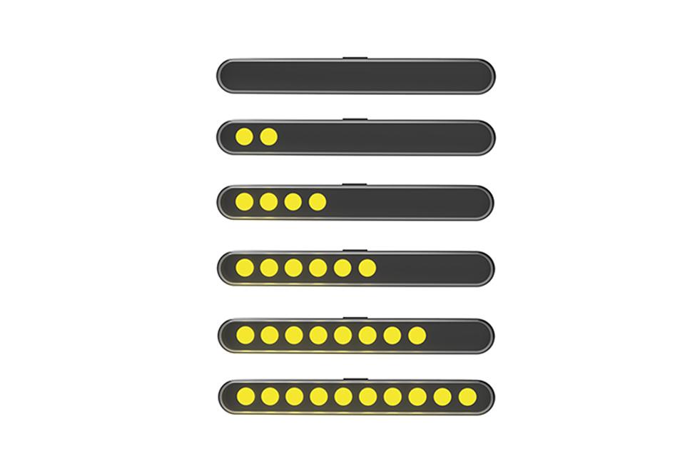 highsider Espejo carenado TOREZZO con intermitentes LED